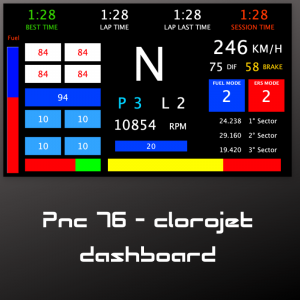 formula steering wheel christian-giovanni dashboard
