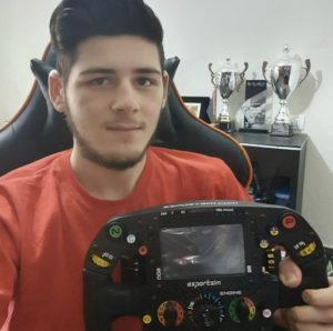 David Tonizza F1 world champion